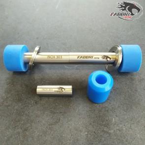Kit silent block carter Piaggio blu